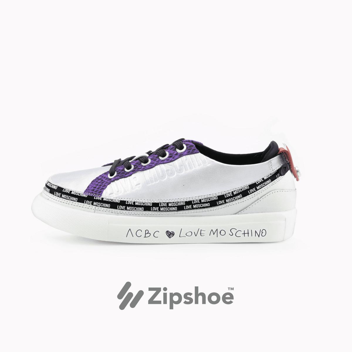 Sneaker Silver&Violet