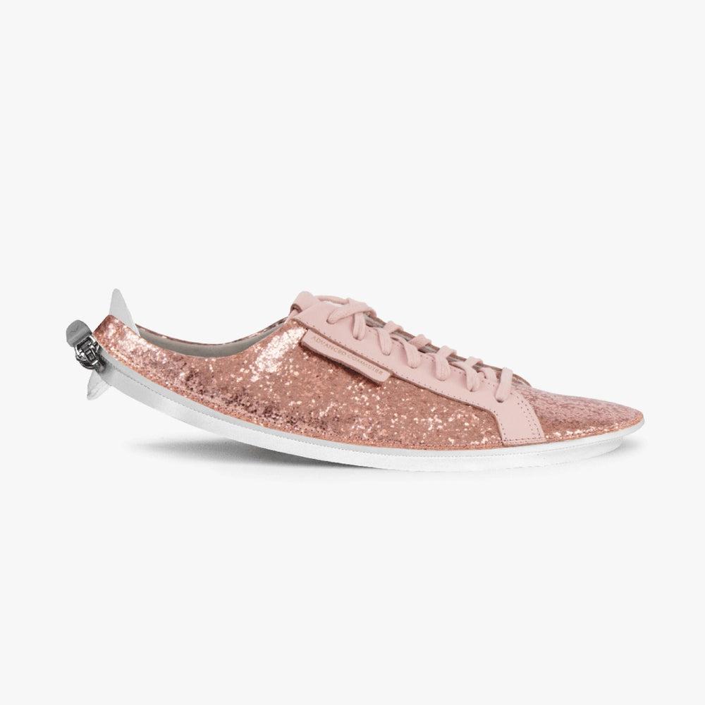 Skin Sneaker Rose Glitter