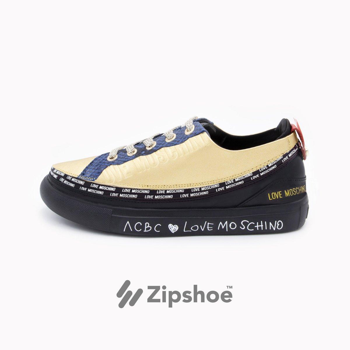 LoveMoschino Sneaker Gold&Blue