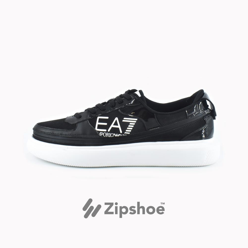 EA7 Black Zip Sneaker