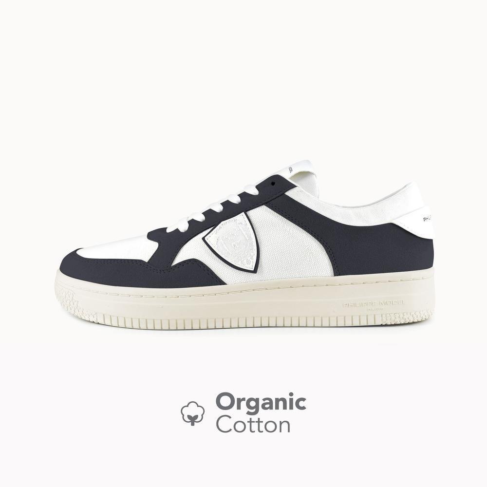 Philippe Model Lyon White&Black Organic Cotton