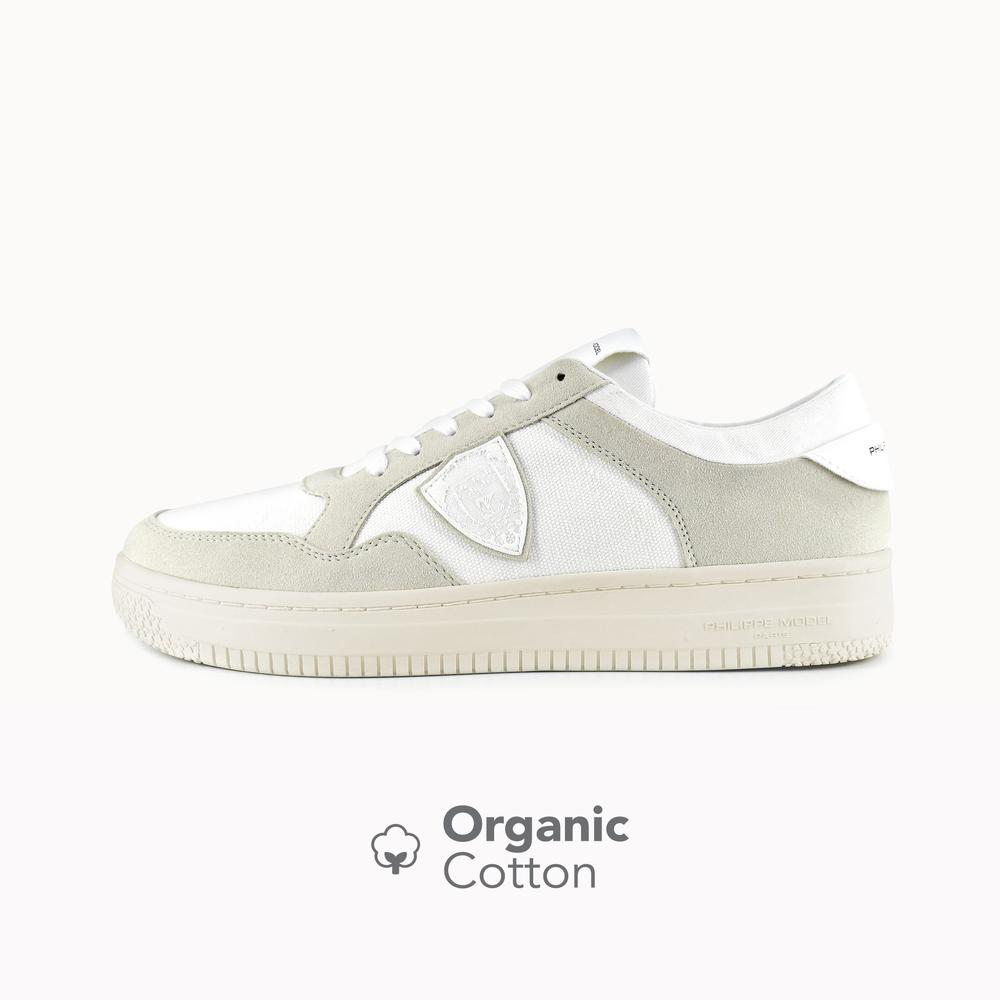 Philippe Model Lyon White&Beige Organic Cotton