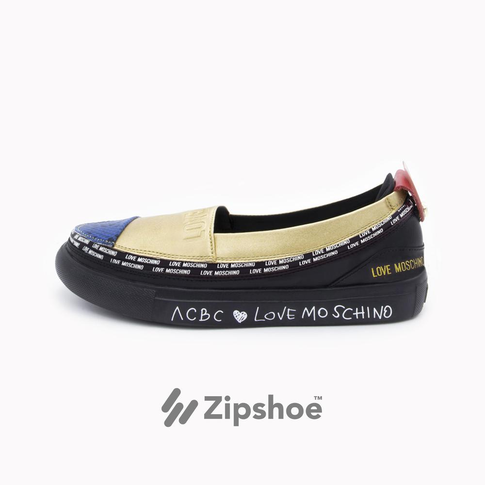 LoveMoschino Espadrilla Gold
