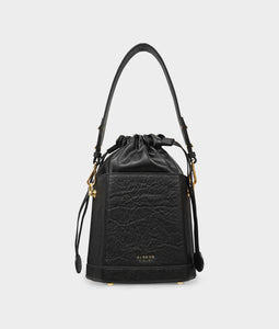 Fire Bucket Bag in Pineapple Leather