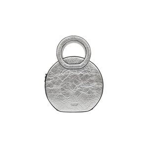 Alkeme Atelier Earth Round Bag in Pineapple Leather