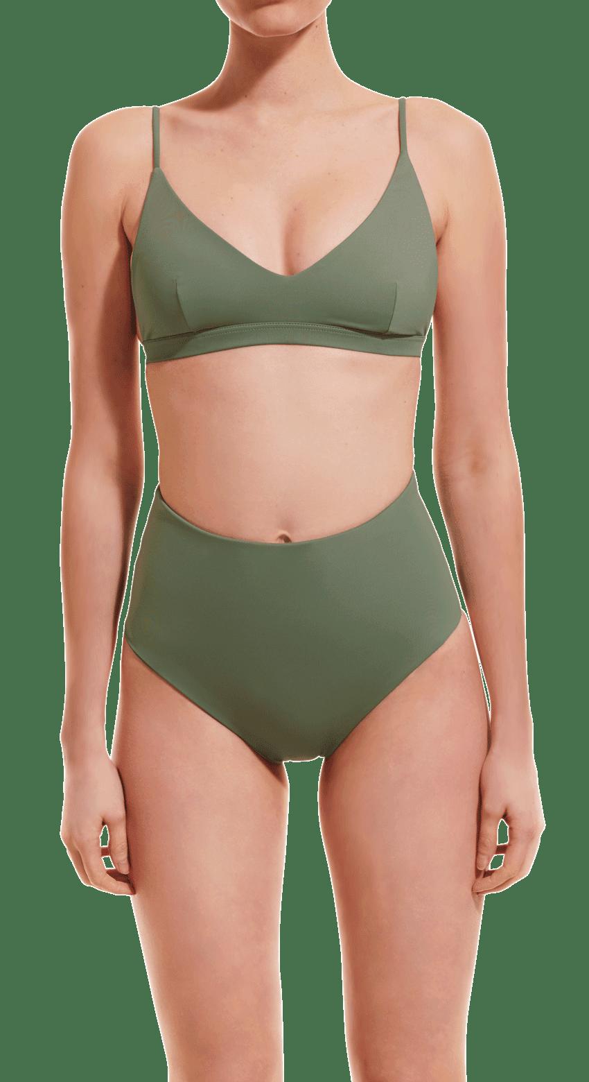 High waist brief