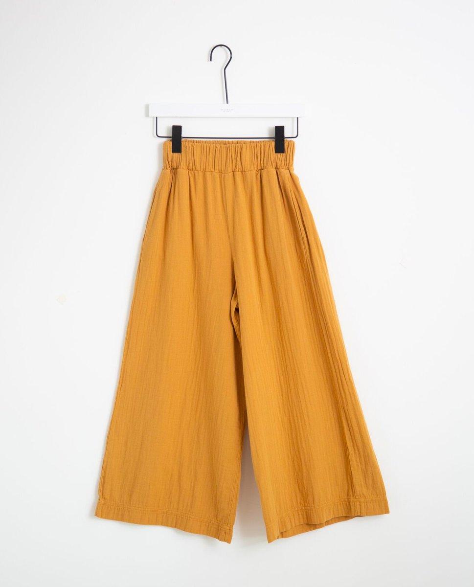 Evora Organic Cotton Trousers In Sun