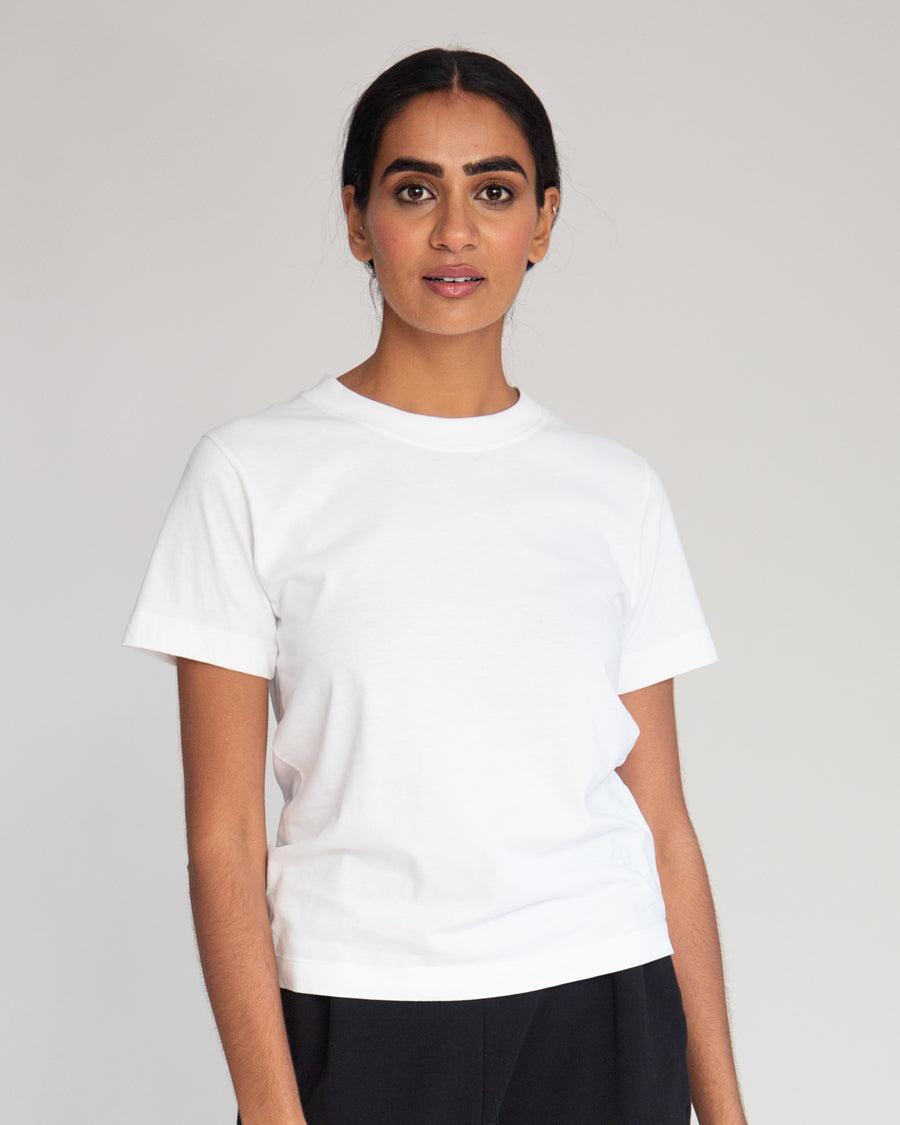 Beaumont Organic Maliah Organic Cotton Top In White