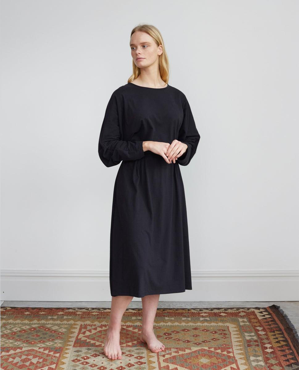 Talita Organic Cotton Dress In Black