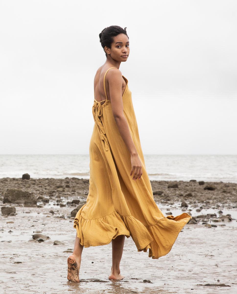 Belmira Organic Cotton Dress In Sun