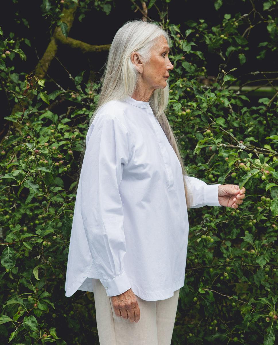 Beaumont Organic Beckie Organic Cotton Shirt In White