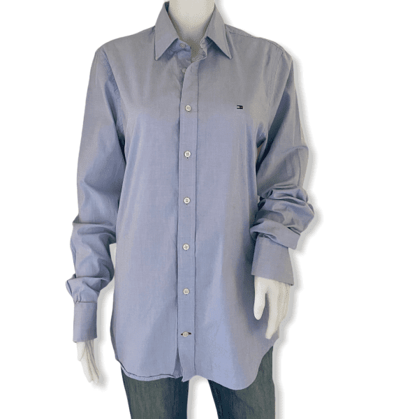 TOMMY HILFIGER Shirt Blue S