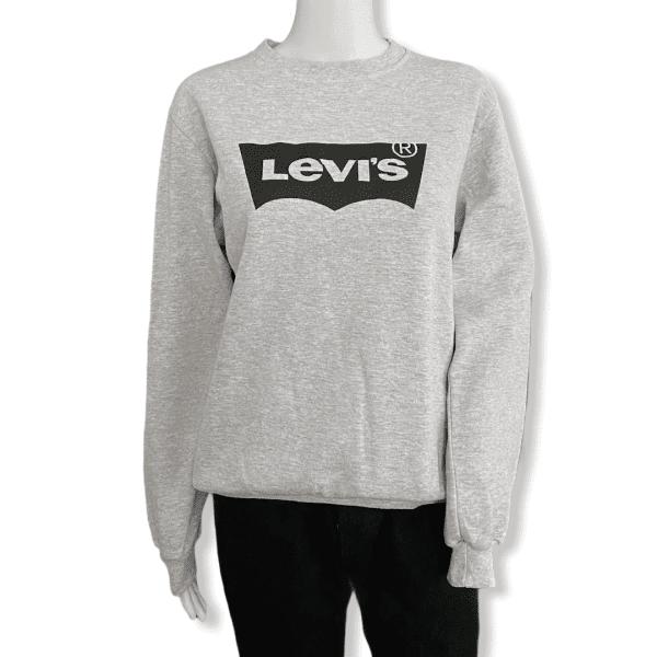 LEVIS Sweatshirt Grey M