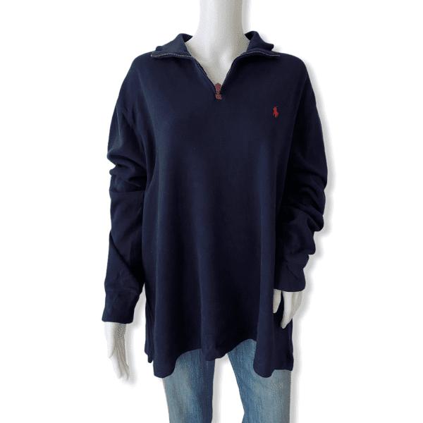 RALPH LAUREN navy sweater XL