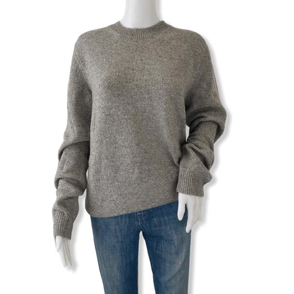 A.P.C. grey sweater M