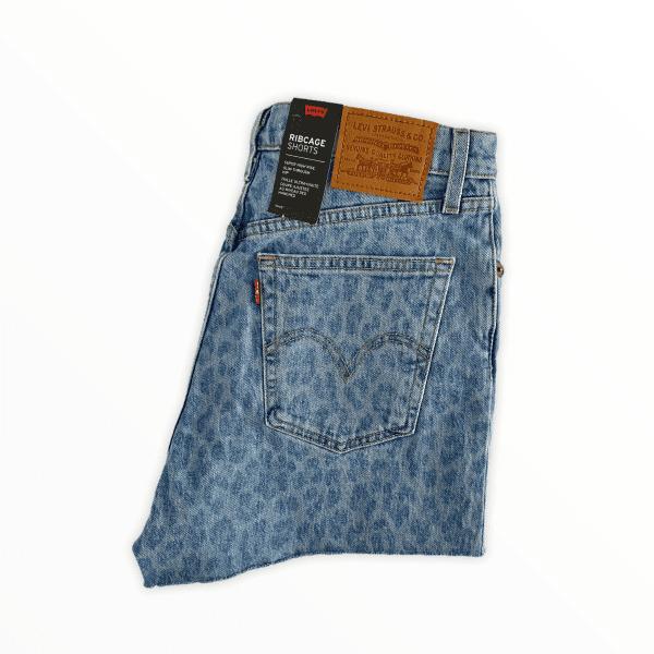 LEVIS 501 shorts leopard XS