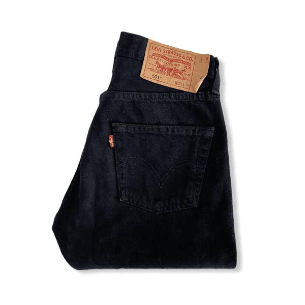 LEVIS 501 black jeans XS