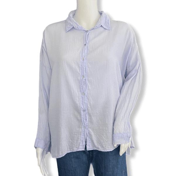 BASH blue shirt XS