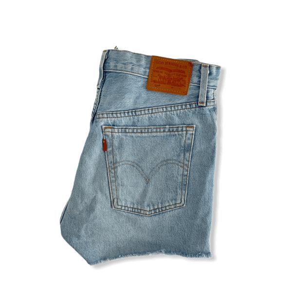 LEVIS 501 shorts light blue S