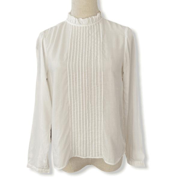 ANINE BING white blouse XS