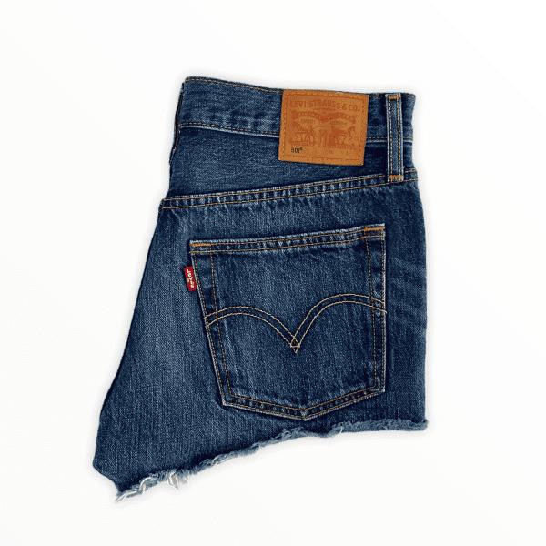 LEVIS 501 blue shorts M
