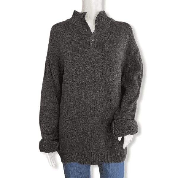 CHAPS grey vintage sweater