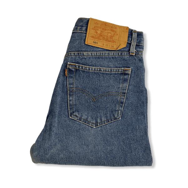 LEVIS 501 jeans blue L