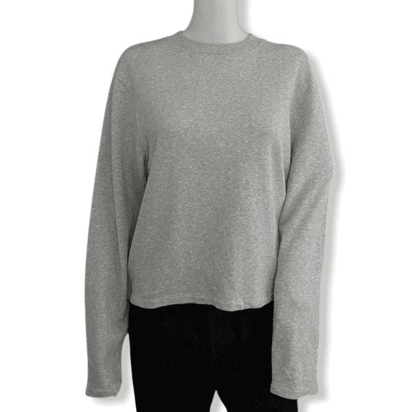 ACNE STUDIOS grey sweatshirt S