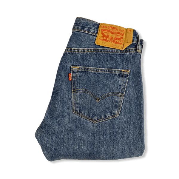 LEVIS 501 blue jeans M