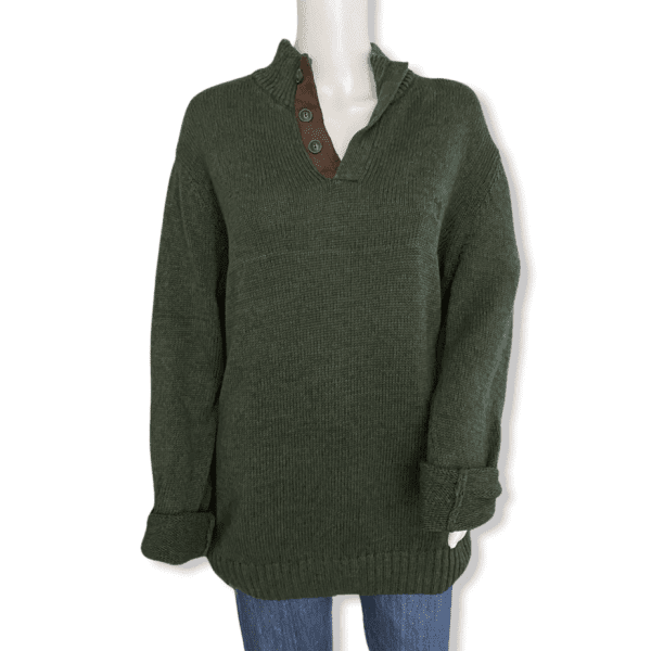 CHAPS green vintage sweater
