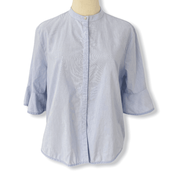 MAJE blue blouse M