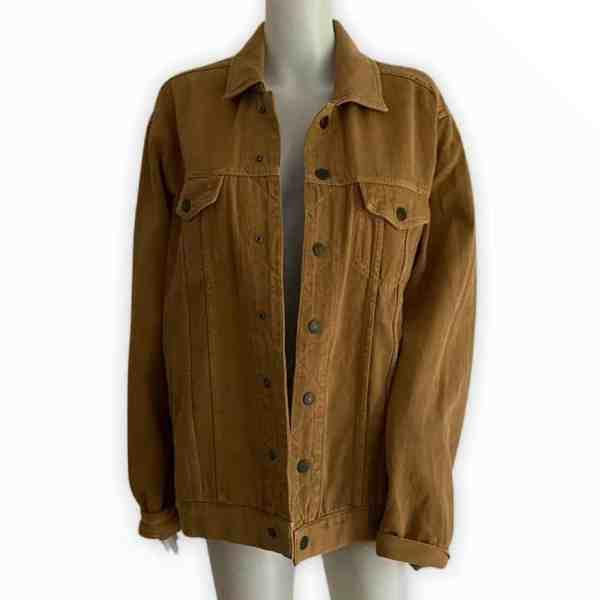 AMERICAN VINTAGE brown denim jacket M