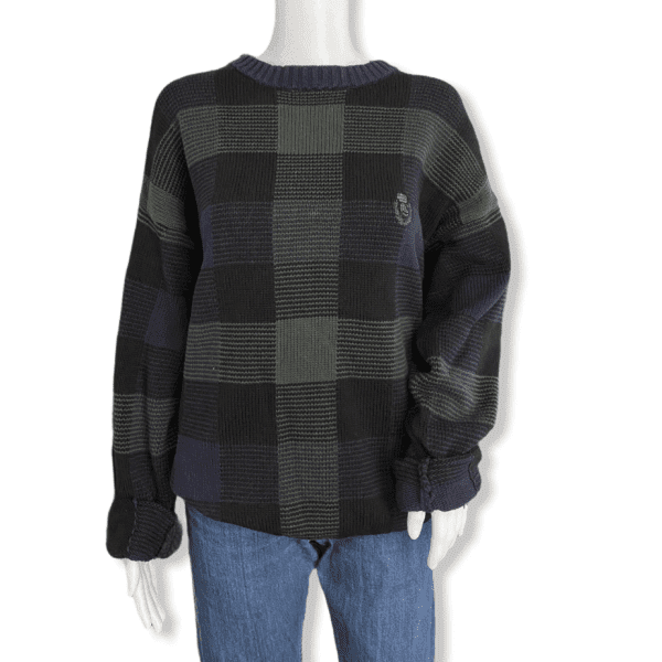 CHAPS bicolor vintage sweater