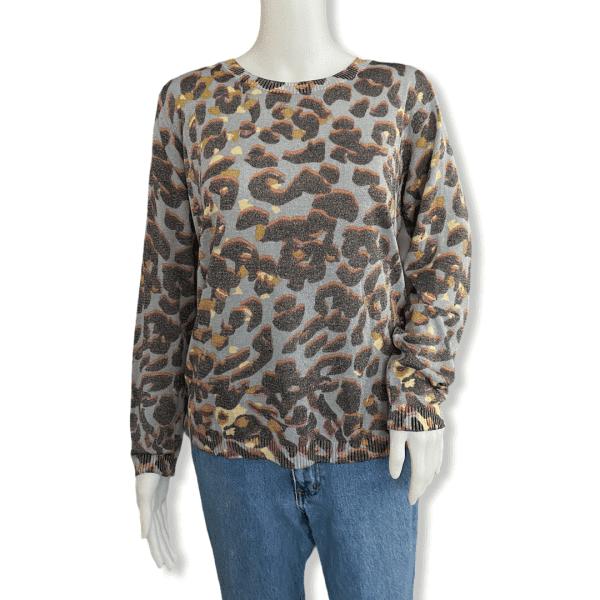 IKKS Sweater Leopard S
