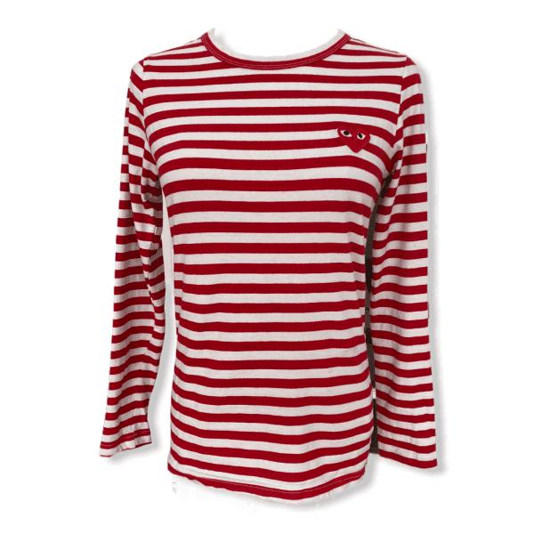 COMME DES GARCONS striped shirt S