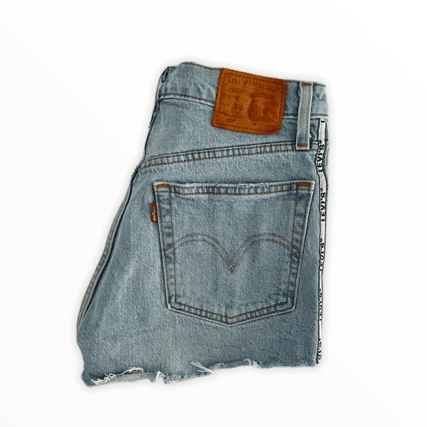 LEVIS 501 shorts side stripe XS