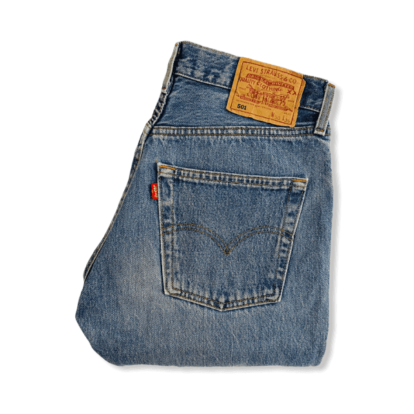 LEVIS 501 jeans light blue M