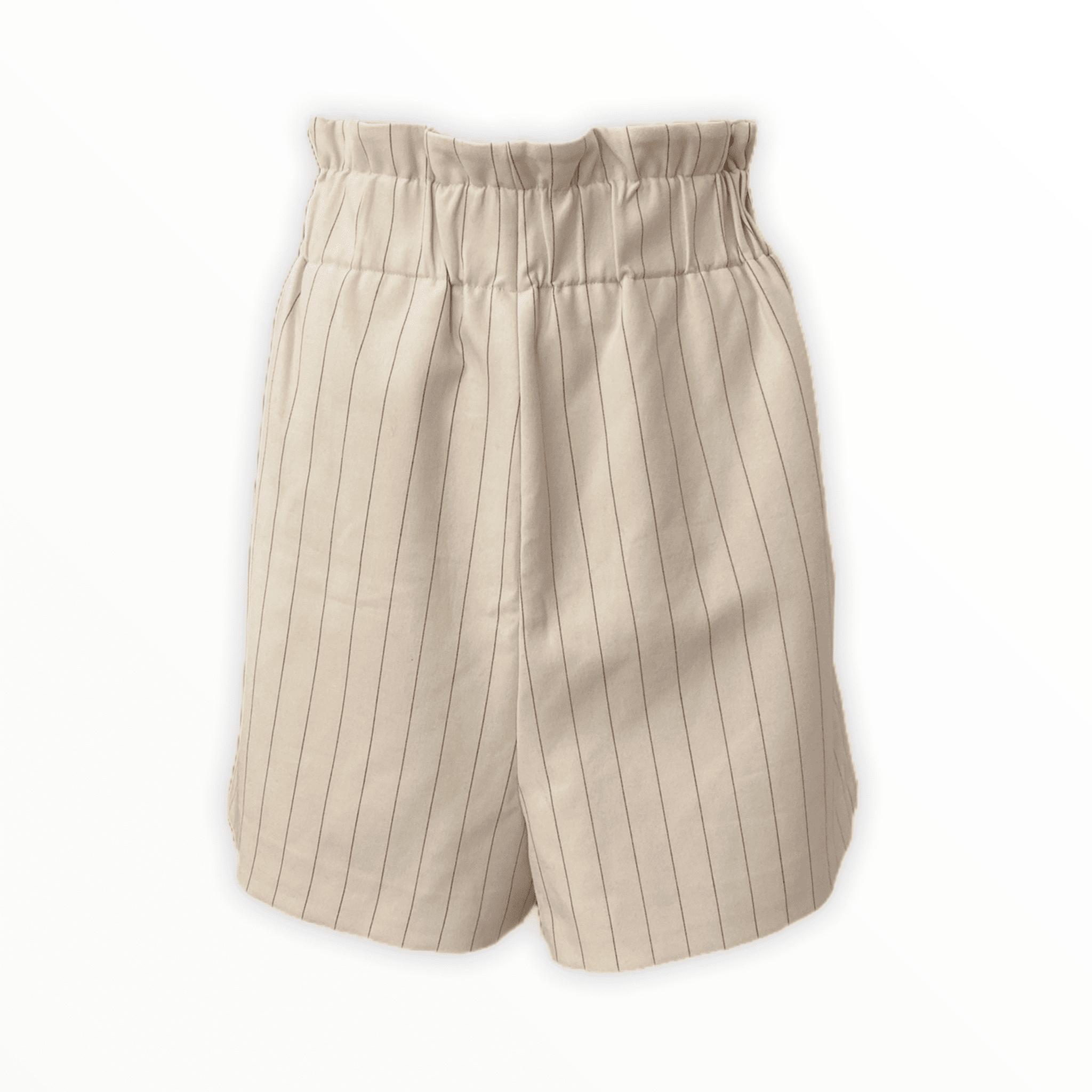 GANNI striped shorts L