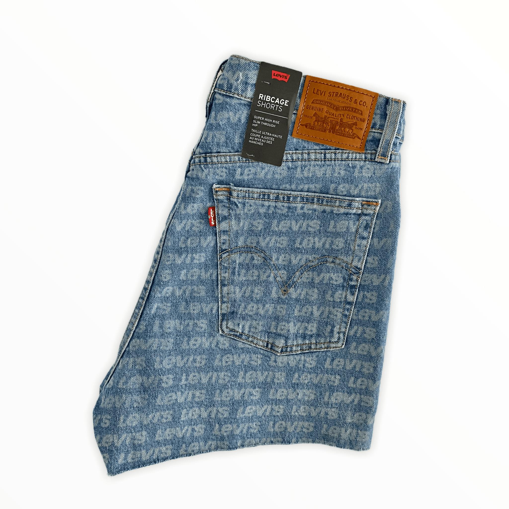 LEVIS 501 shorts logo M