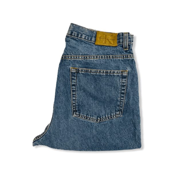 CALVIN KLEIN blue jeans L