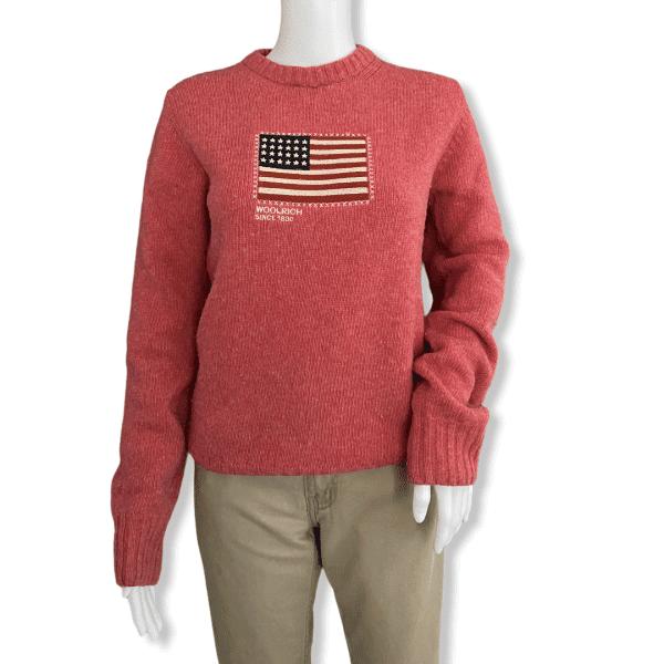 WOOLRICH dark pink sweater S
