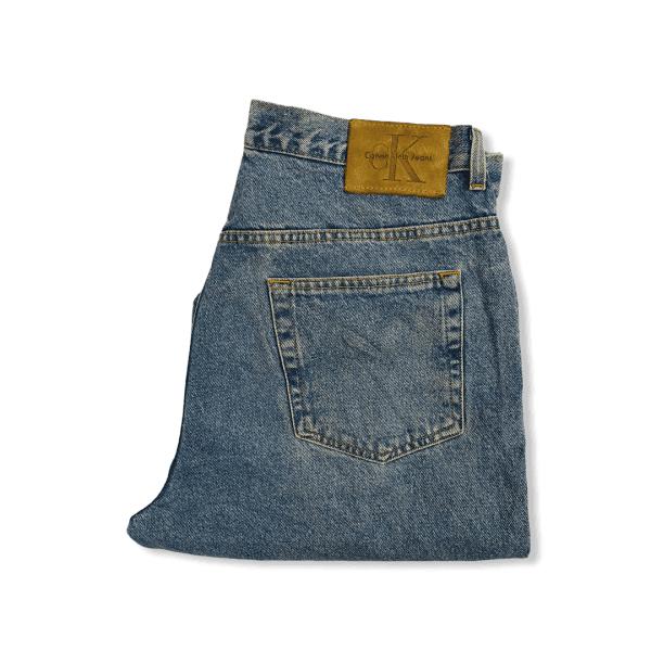 CALVIN KLEIN vintage light blue jeans XL