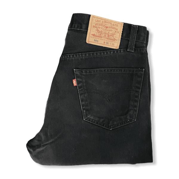 LEVIS 501 black XL