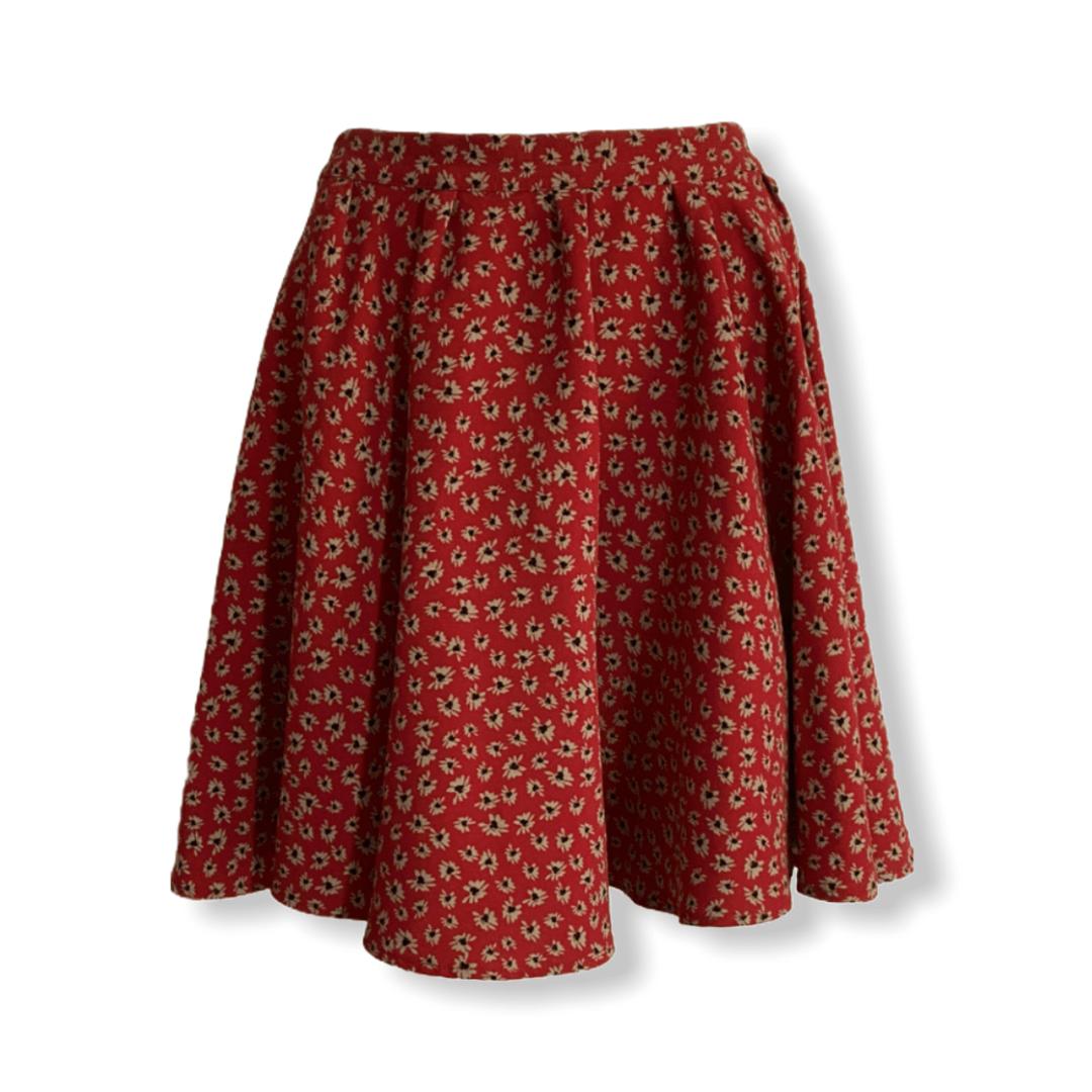 AMERICAN VINTAGE floral skirt L