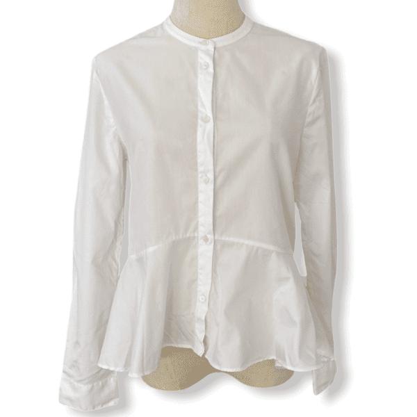 IRIS & INK white blouse L