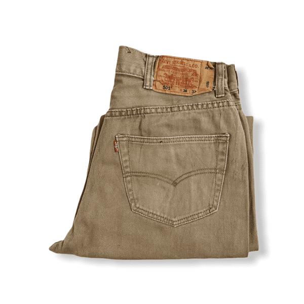 LEVIS vintage 501 beige jeans L