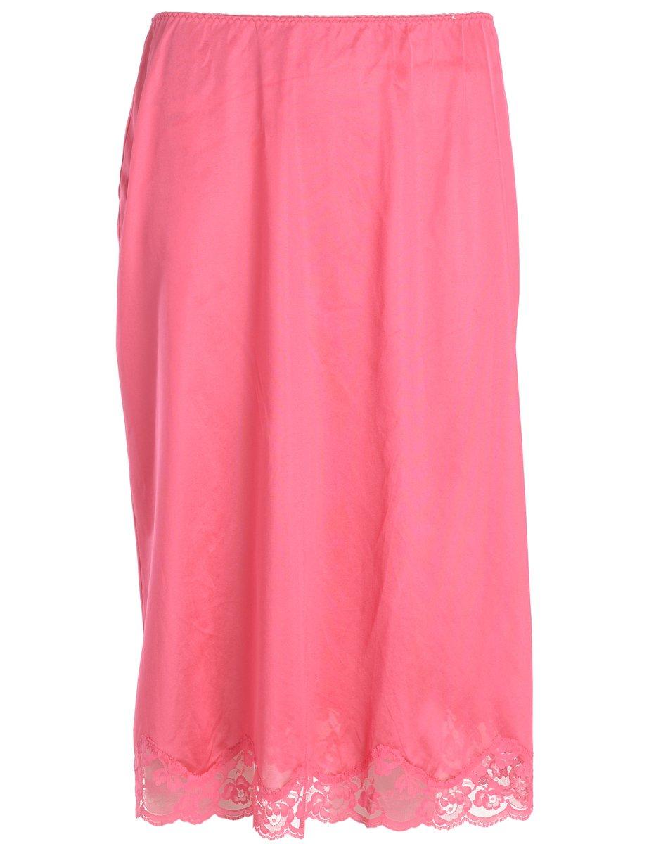 1990s Pink Underskirt - L