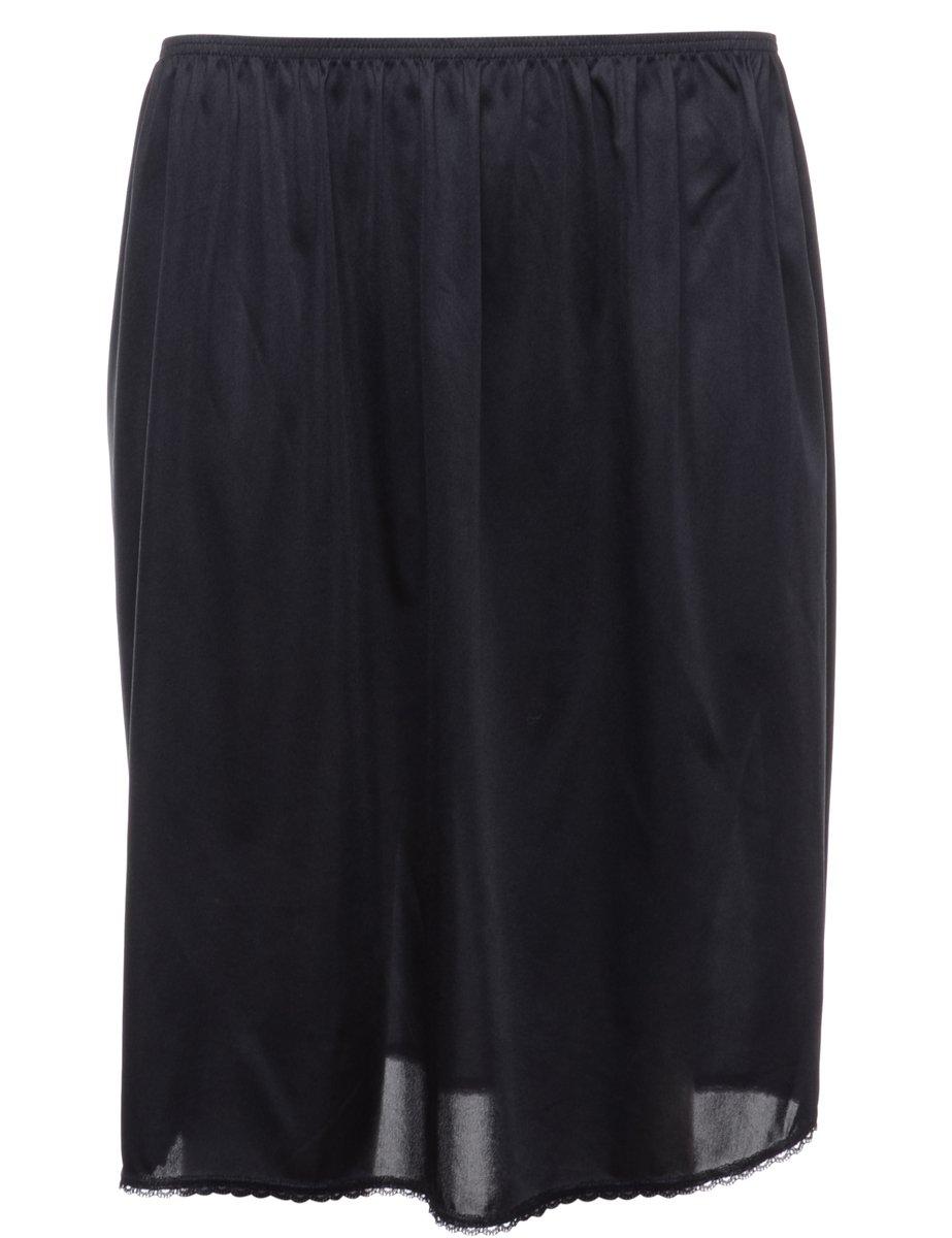 1990s Black Underskirt - M