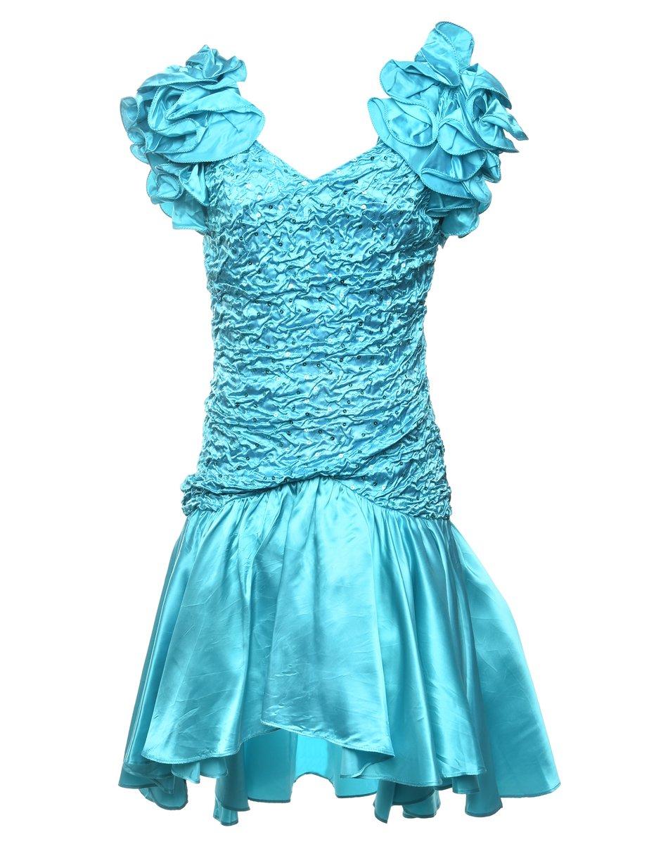 Beyond Retro 1980s Party Dress - M