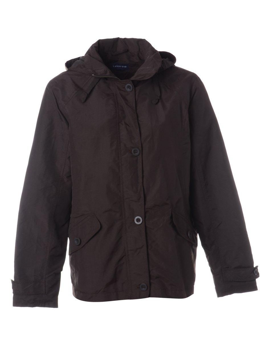 1990s Zip Front Jacket - M